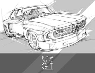 BMW 2002 GT by TearsOfry