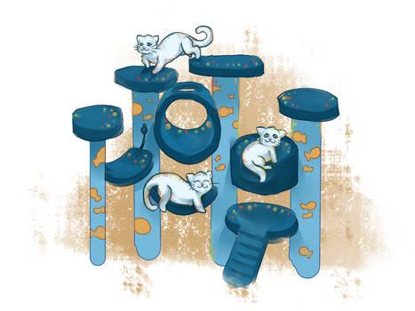 Commission: Nirelleth's Cats