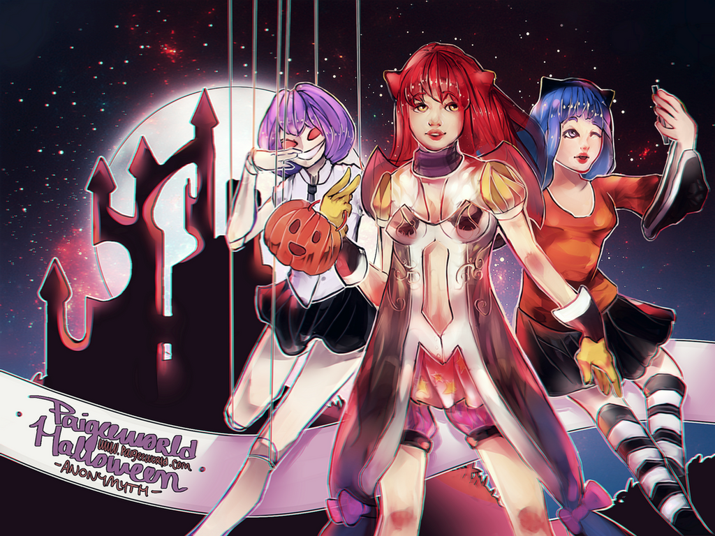Paigeeworld Halloween by Anonymyth