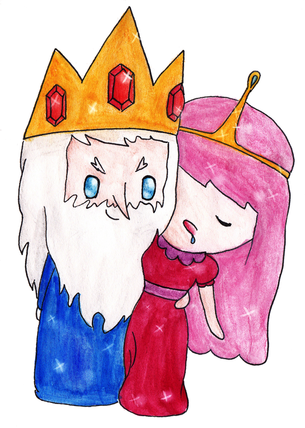 Ice King And Princess Bubblegum The Ice King and Princ...
