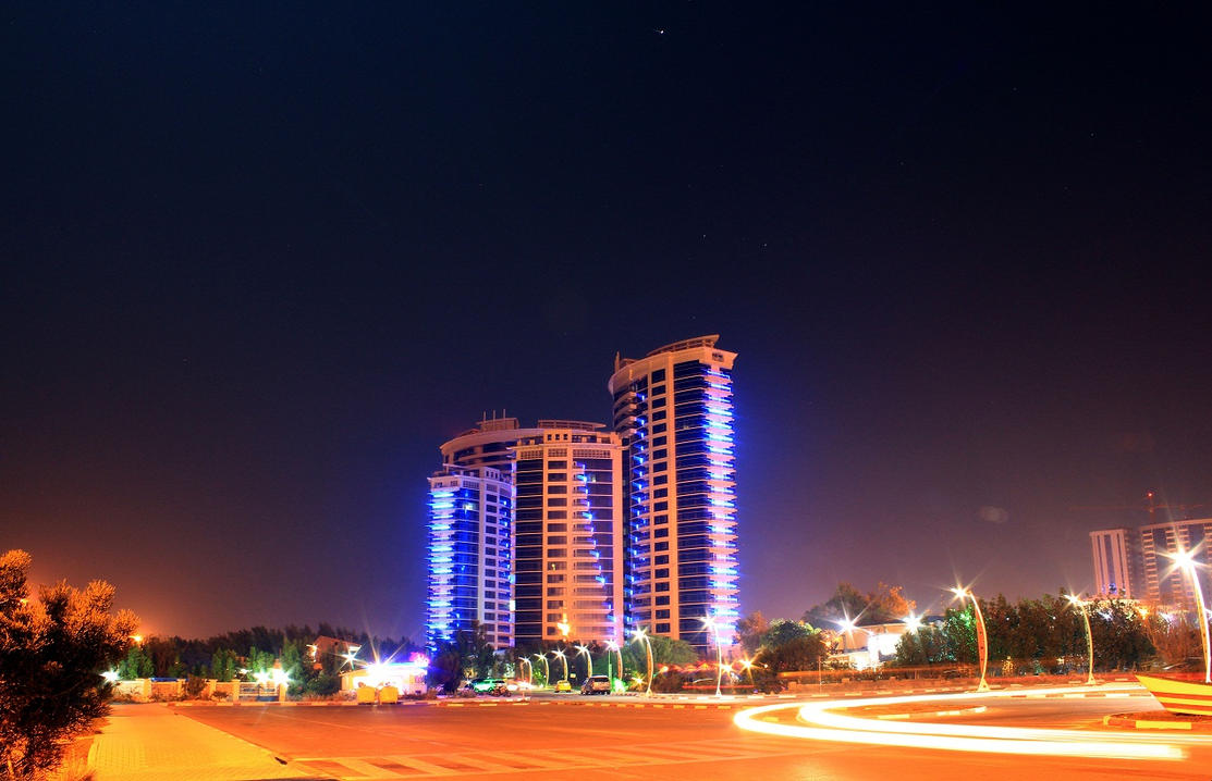 Kish Night - Iran by powerwall