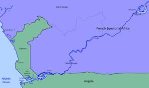 Joining Cabinda to Mainland Angola