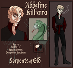 Serpents of Old (OC) by Vivocateur