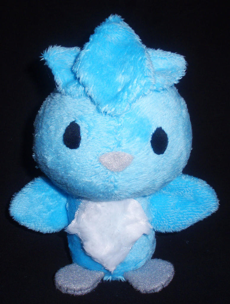 Articuno Plushie Commission by StitchyGirl