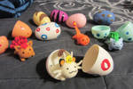 Baby Pokemon in Eggs