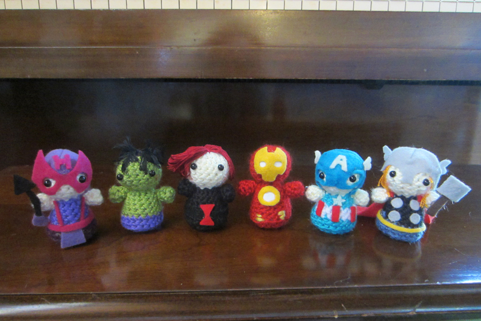 Mini Amigurumi Avengers by StitchyGirl on DeviantArt