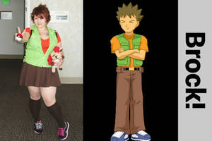 Brock from Pokemon (Gender Bent) Cosplay!