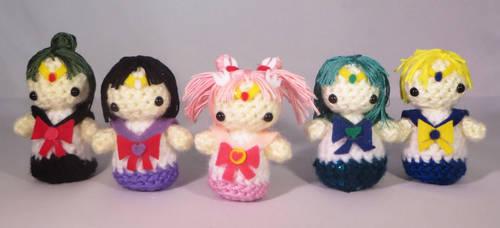 Outer Sailor Scouts Amigurumi!