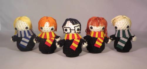 Hogwarts Students Amigurumi!