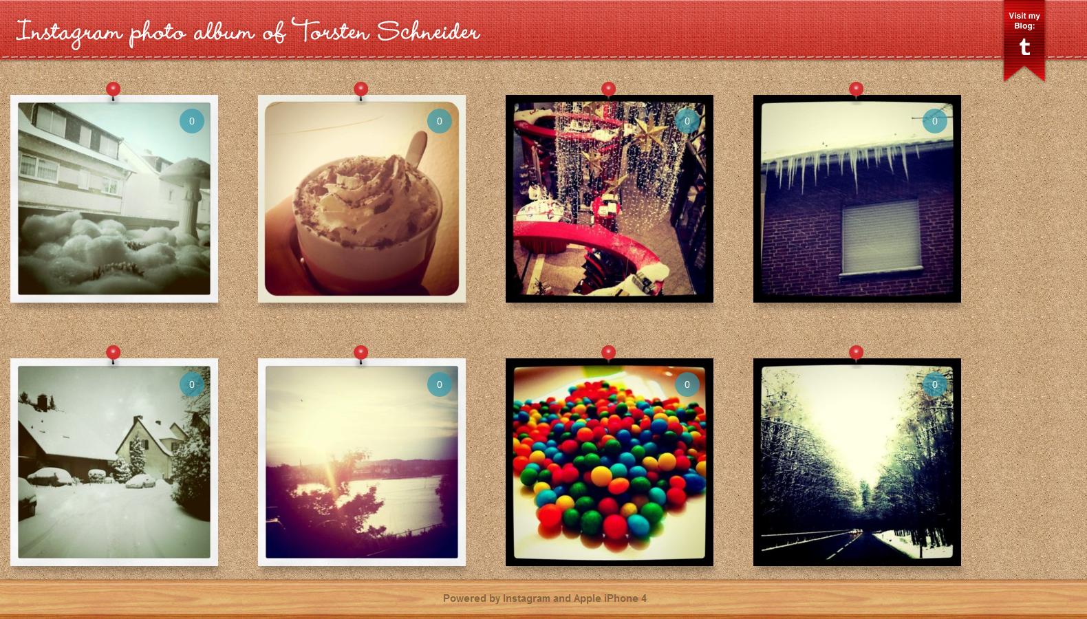 Instagram Photo Blog by novoo