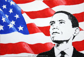Barack Obama by OliviasArtwork