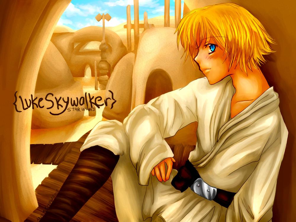 SW - Luke Skywalker by angiechow
