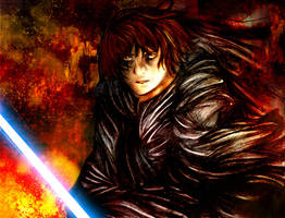 Hatred+Lust . Anakin Skywalker by angiechow