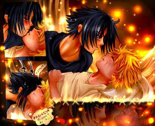 Sasuke is shyyy by angiechow