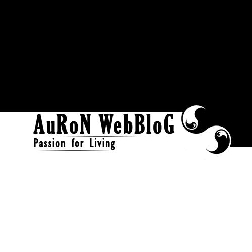auron webblog logo by kanryu on deviantart