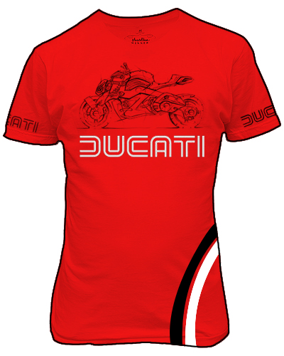 ducati tee shirt design by kanryu on deviantart. Black Bedroom Furniture Sets. Home Design Ideas