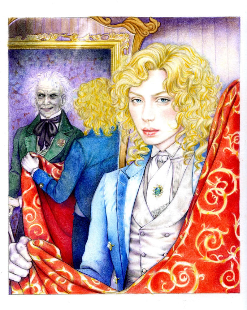 Portrait of dorian gray by saidia