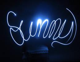 Lightpainting Sunny by suricata5