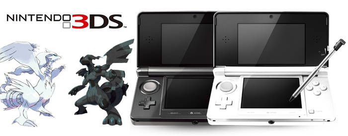 3DS Black and White