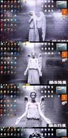 Doctor Who! - Weeping Angel changing desktop