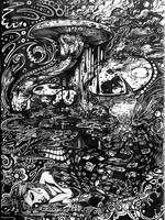 Alice In Wonderland by covenant085