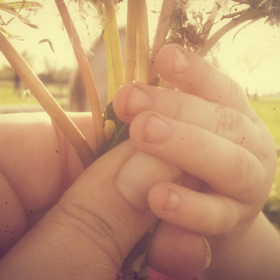 Precious Little Hands by DreamProphetess