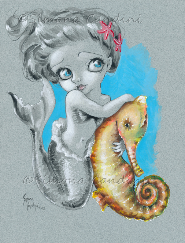Little Mermaid by simonacandini