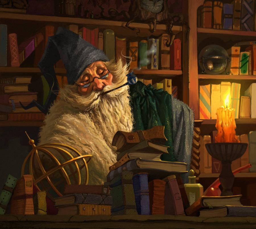 Wizard by katya-gudkina