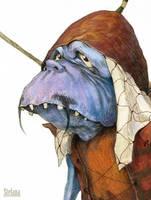 Knight face by katya-gudkina