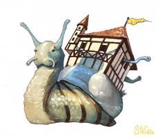 Just snail by katya-gudkina