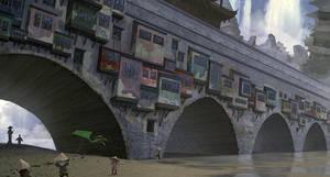Old Bridge by katya-gudkina