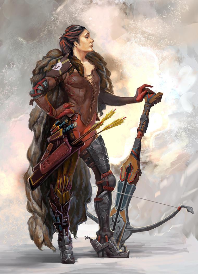 Enforcer class female by Stefana-Tserk