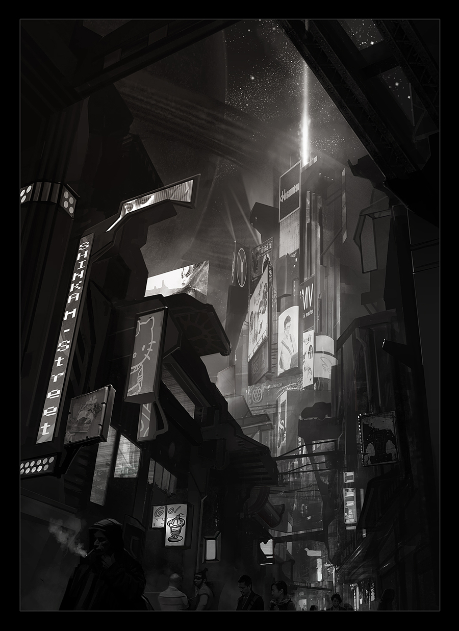 Night city concept by Stefana-Tserk