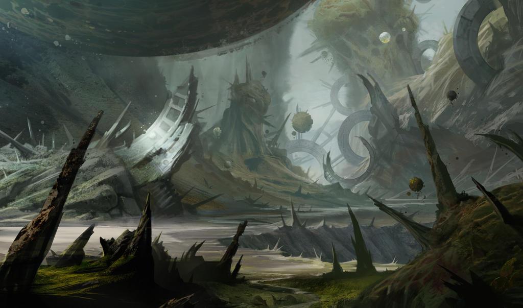 Old planet by Stefana-Tserk