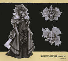 Kairrou sacrificer concept art by katya-gudkina