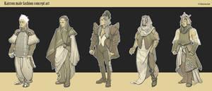 Kairrou male costumes