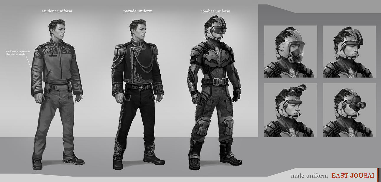 With Science Warhammer Fantasy Mad Scientist Quest: East Jousai Male Uniform By Stefana-Tserk On DeviantArt