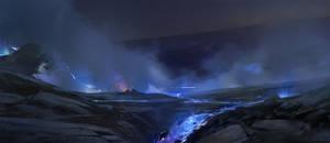 Blu lava sketch