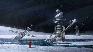 Ice moon sketch
