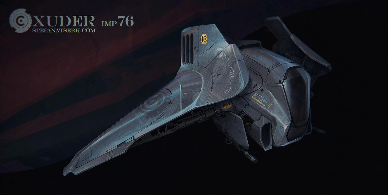 Xuder Imp 76 Concept art by Stefana-Tserk