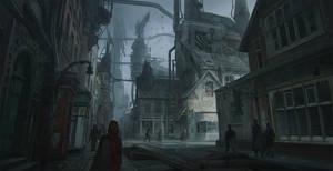 Destita Empire. Streets.