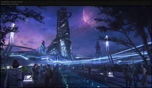 Sci-fi street