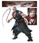 Gilroy - Berserker character art