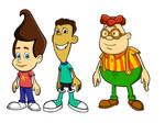 Jimmy Neutron Cast by robertamaya