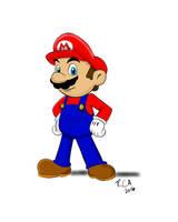Mario by robertamaya