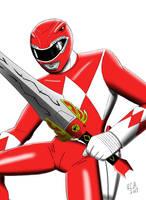 Mighty Morphin Red Ranger by robertamaya