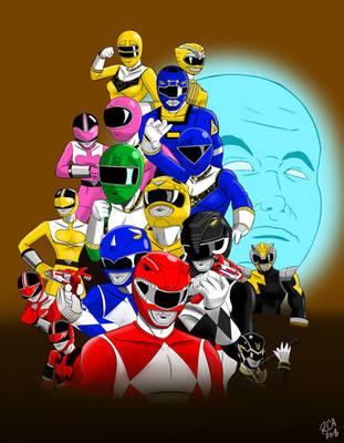 Power Rangers (Order variant) by robertamaya