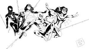 Spider-Team by robertamaya