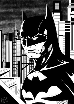 New Batman Drawing by robertamaya