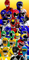 African descent Power Rangers